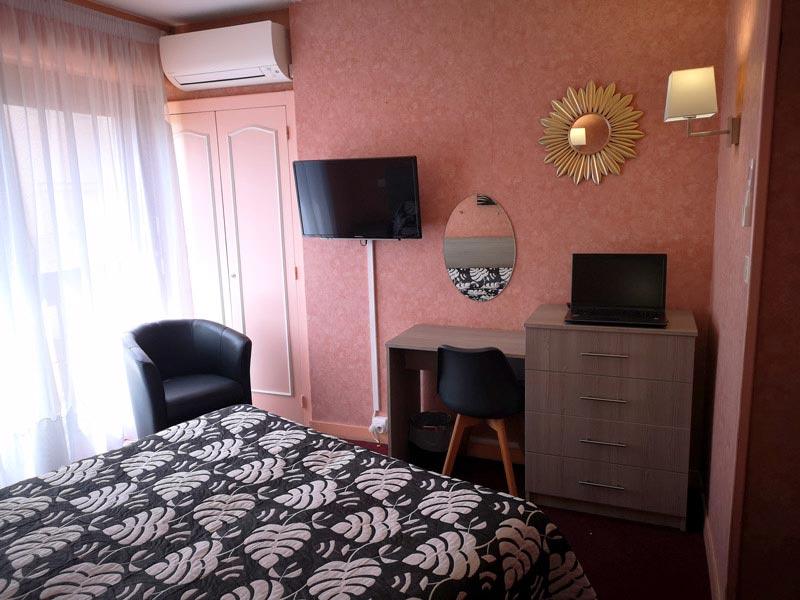 Chambres d\'hôtel 2 étoiles - Dax - Hôtel Le Vascon - Landes (40)